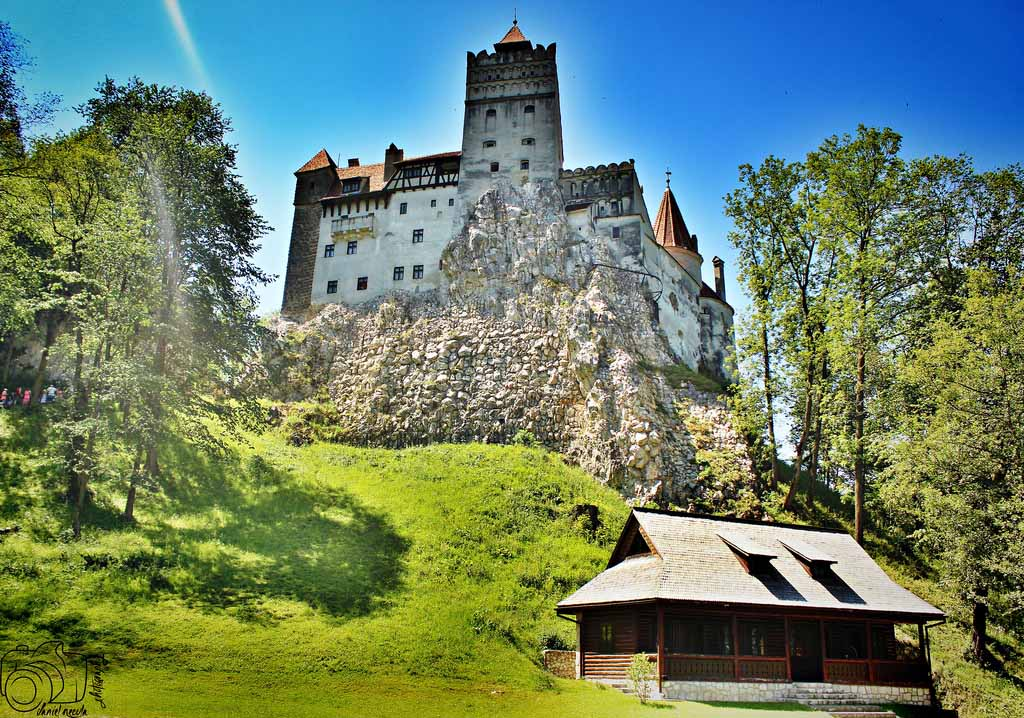 Bran Castle a.k.a. The Home of Dracula. Photo by Daniel Necula, www.flickr.com/dannynecula
