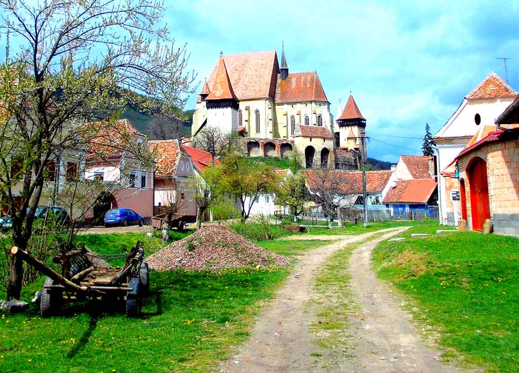 Biertan Fortified Church, part of the Saxon heritage. Credits: Unveil Romania