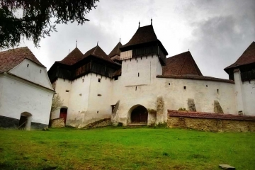 Viscri - one of the most famous fortified churches in Transylvania. Credits: Unveil Romania