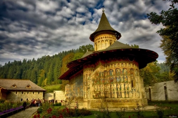 Voronet Monastery, the Sistine Chapel of the East. Photo by Constantin Florea, www.flickr.com/costiflorea