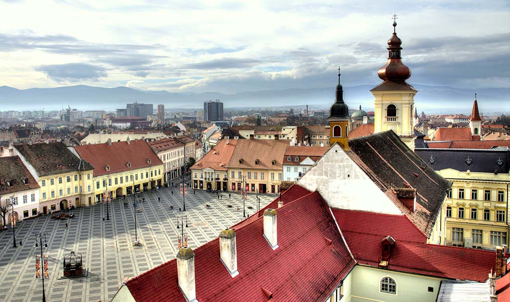 Sibiu - European Capital of Culture in 2007. Credits Flickr/ Vincent Rowell