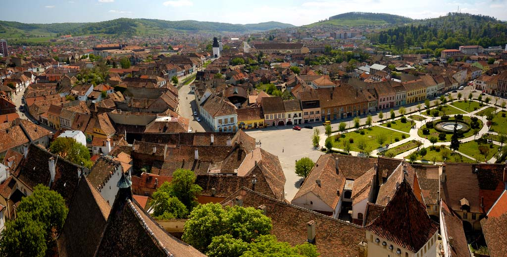Medias - medieval town in the heart of Transylvania, known for its 33 craft guilds.  Credits flickr.com/cotrop