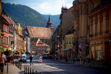 Brasov with the famous Black Church in the background. Credits: Stefan Jurca