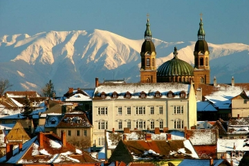 Sibiu City & Parang Mountains. Credits Camil Ghircoias