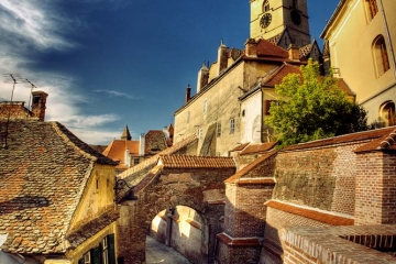 Sibiu - a journey back in time. Credits flickr.com/cotrop