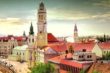 Oradea - cultural hub in North-West Romania. Credits Flickr/ Vincent Rowell