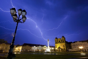 Timisoara - first european city lit by electric street lamps. Credits Flickr/ Cornel Putan