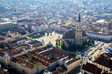 Cluj Napoca - cultural, historical & academic hub. Its many universities, boheme cafes & famous clubs turn Cluj into the Youth Capital of Romania.