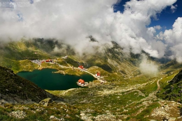 Fagarasi Mountains - view over Balea Lake. Photo by Adrian Petrisor, www.adrianpetrisor.ro