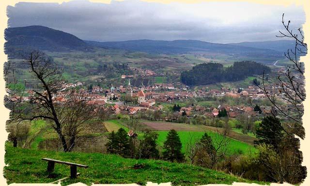 Saschiz - Transylvanian village