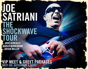 Joe Satriani. Romania festivals