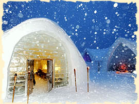 Winter in Romania - Balea Ice Hotel