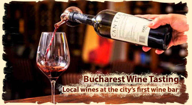 Private wine tasting Bucharest tour