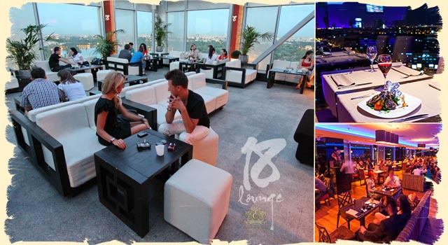 18 Lounge - Bucharest rooftop bars