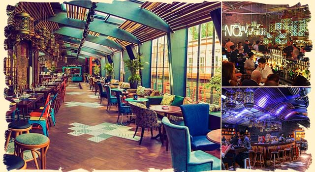 Nomad - Bucharest rooftop bars