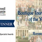Unveil Romania wins Boutique Tour Operator of the Year Award!