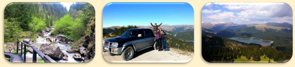Off road tour Bucegi Mountains