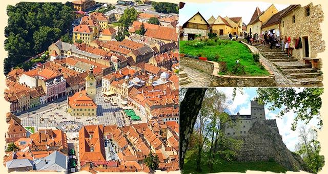 Bran Dracula Castle Rasnov Fortress Brasov Romania itinerary