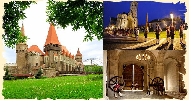 Corvin Castle Alba Iulia Sibiu Romania itinerary