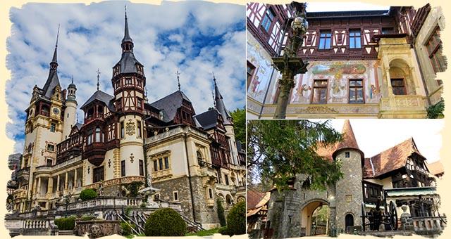 Peles Palace Romania itinerary