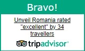 Unveil Romania - TripAdvisor excellent rating